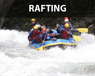 Wildwasser Rafting Touren