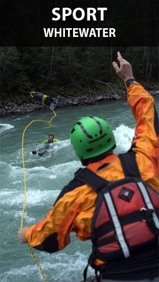 SPORT - Whitewater kayaking and rafting safety and rescue training