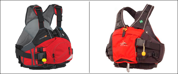 Swiftwater PFDs and Lifejackets