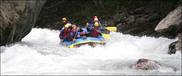 Whitewater Rafts