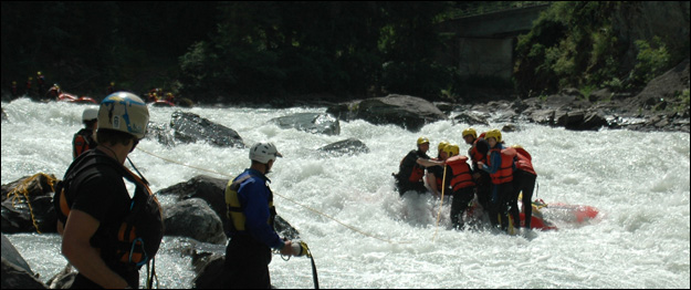 Swiftwater Rescue Technician Advanced Course